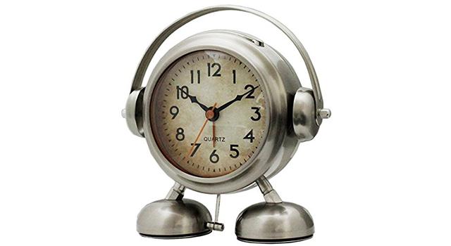 ビッグサウンド フットベル目覚まし時計アミーゴの外観
