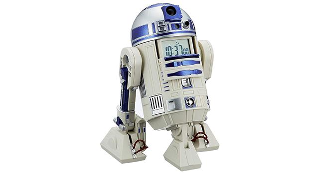 R2-D2目覚まし時計の外観