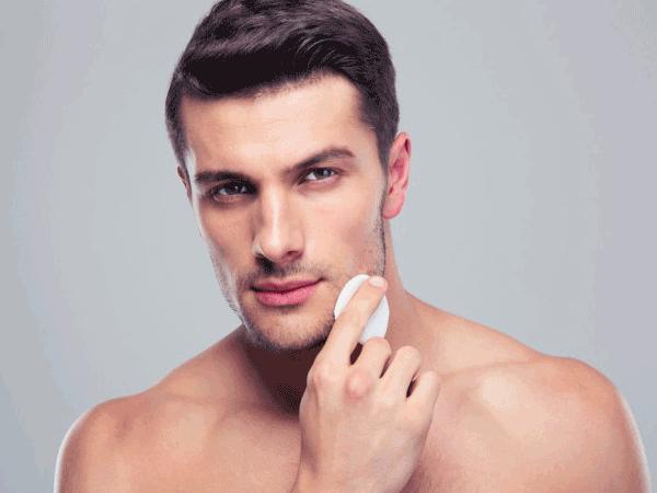 美容を意識する男性