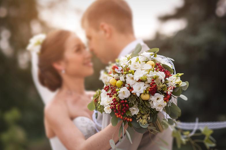 遠距離の場合の結婚式