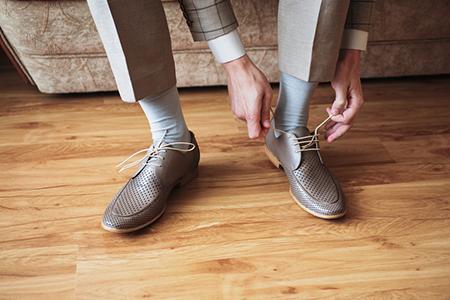 靴の中が蒸れない通気性が良い