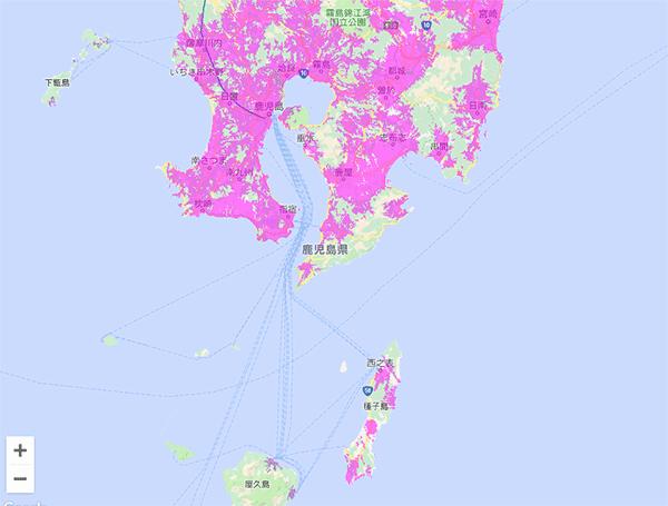WiMAXは鹿児島でも利用できる!
