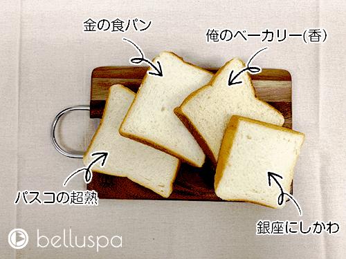 【生食編】4つのポイント別に話題の食パンを辛口評価!