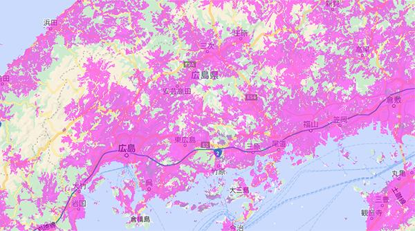 WiMAXは広島でも利用できる!